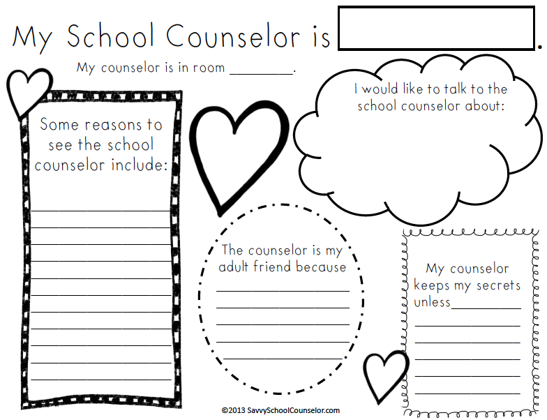 Ms. Sepp's Counselor Corner: First Week: Meet the