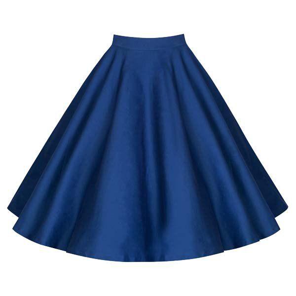 Noble U Womens Basic Solid Versatile Stretchy Swing Mini Skater Skirt