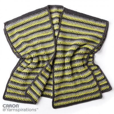 Free Easy Crochet Ruana Pattern Shawl Luv Wraps Pinterest Easy