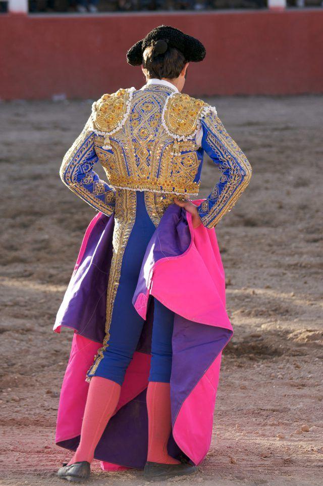 Matador jackets can be elaborately decorated.   Matador