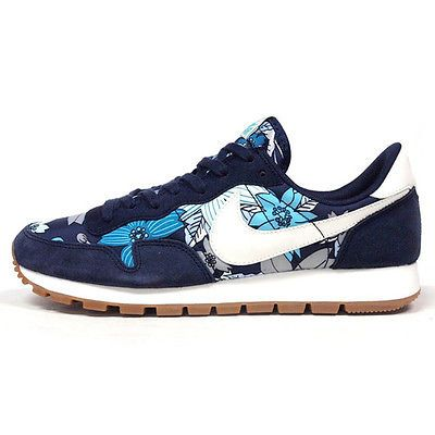 Nike Air Pegasus 83 Print Womens 725079-400 Aloha Blue Running Shoes Size  10.5 7a7996b74f