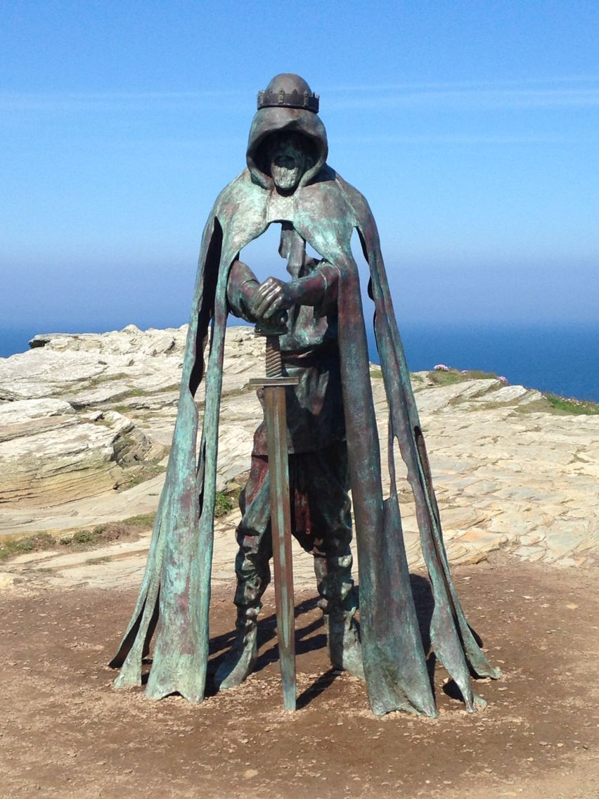 Image result for king arthur statue