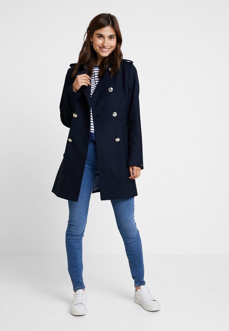 MADISON COAT Wollmantelklassischer Mantel blue