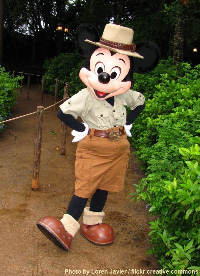 His At Disney's Park Kingdom Mickey In Safari Suit Animal Mouse pGjqUzMVLS