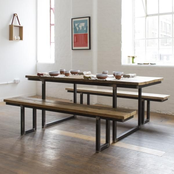 Reclaimed Wood Dining Table | Designed By Nikki Sanders