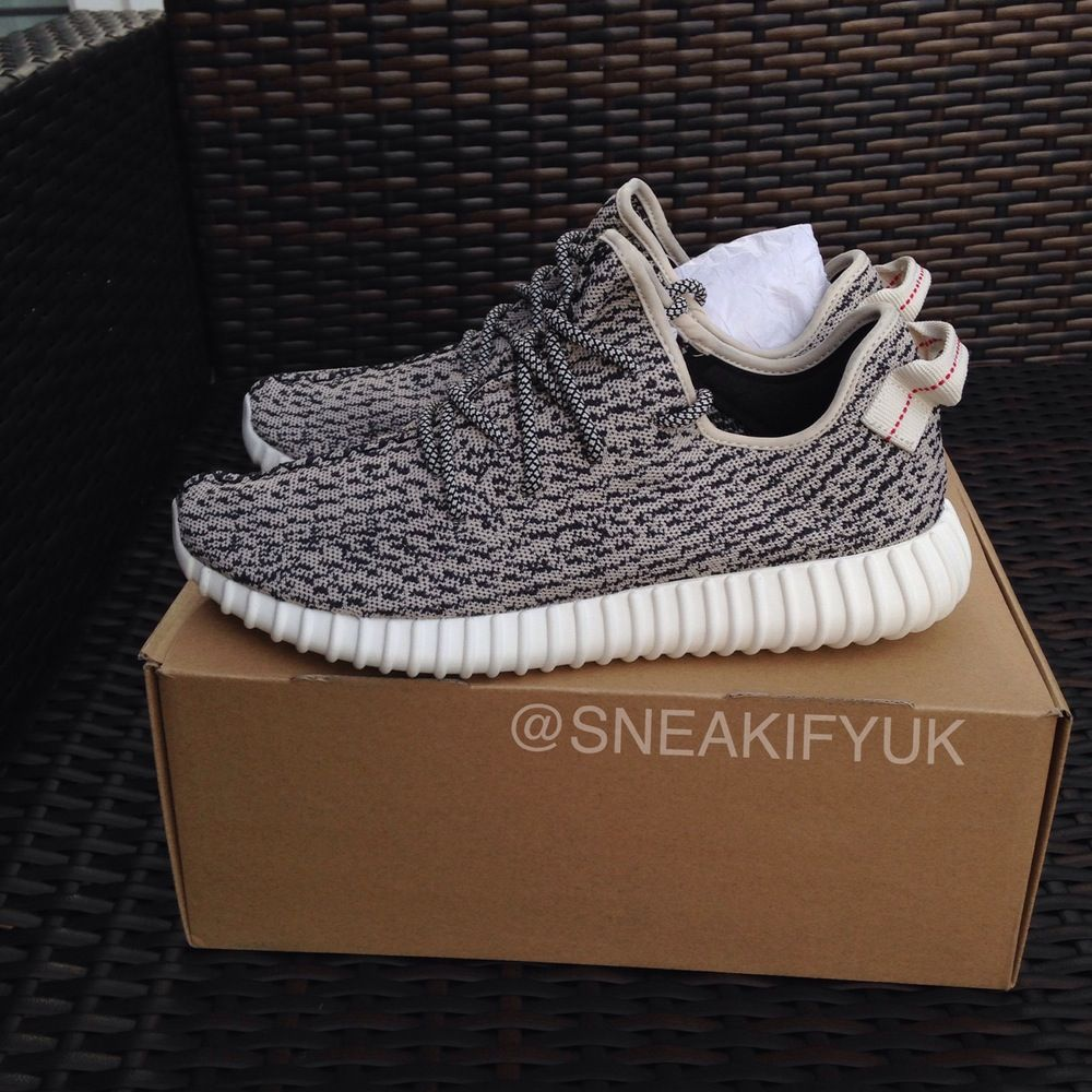 Authentic Adidas Yeezy Boost 350 'Turtle Dove' AQ4832 Size