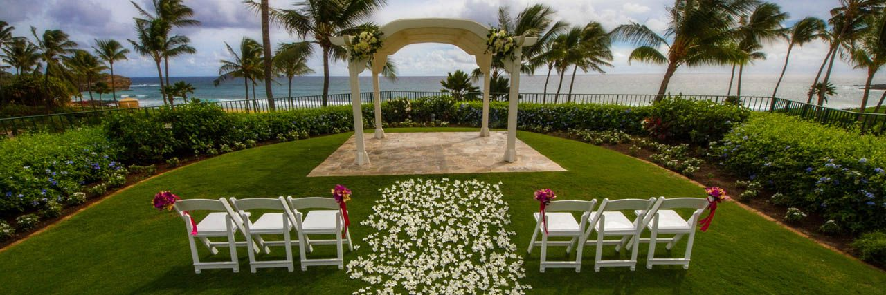 Surround Yourself With Stunning Views And Experience Professional Planning Services In Our Beachfront Venues Start Your Kauai Wedding Now