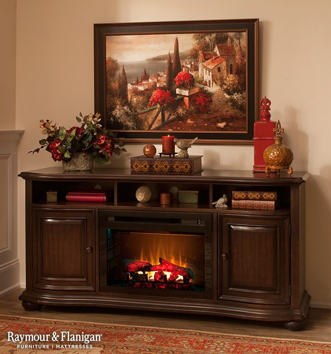 An Electric Fireplace Is A Charming Focal Point For Any Room