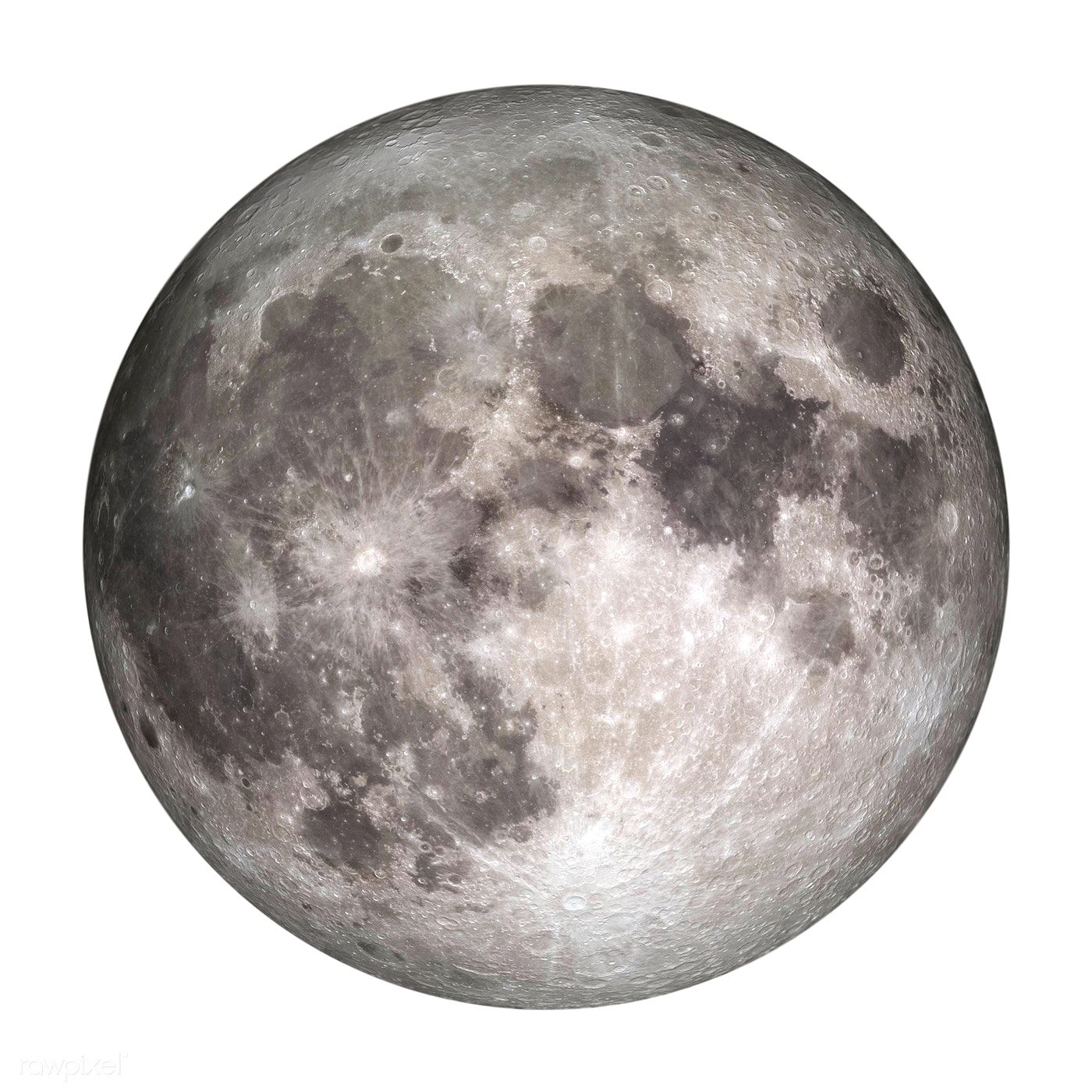 Download Premium Illustration Of Close Up Of The Full Moon Sticker Design Moon Drawing Moon Art Full Moon
