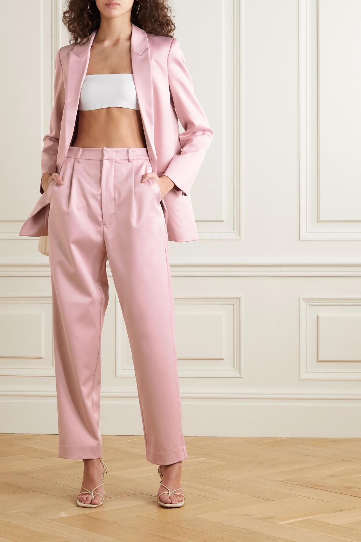 Pale Pink Pantsuit