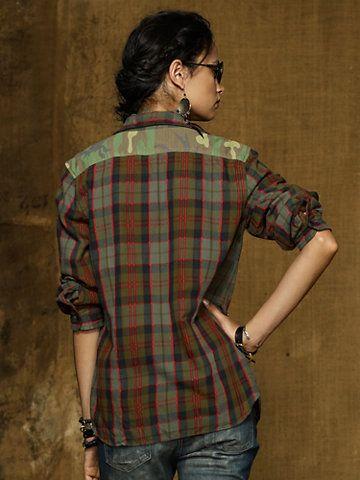 WANT!!!!!!!!    Twill Utility Shirt - Long-Sleeve  Shirts - RalphLauren.com