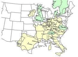 Europe Vs. Us Size Comparison Map Europe vs. US Size Comparison Map. Wow really puts size into