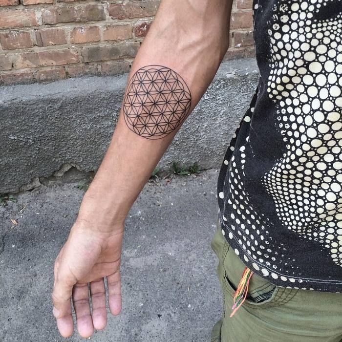 30 Spiritual Flower of Life Tattoo Designs Flower of