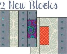 "Quilt Features 2 New blocks 3 Long horizontal borders 32 New fabrics from various manufacturers  The overall size is 51"" by 67"". Use this quilt just as is or modify it any way you like with Quilt Design Wizard™."