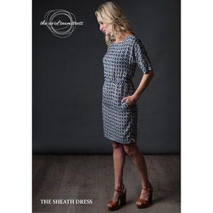 ed6a722eebb7b The Avid Seamstress Sheath Dress Sewing Pattern - Girl Charlee Fabrics