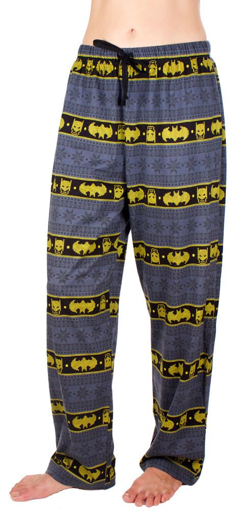 DC Comics Fair Isle Batman Pajama Pants - Teen Sizing #comicbook ...