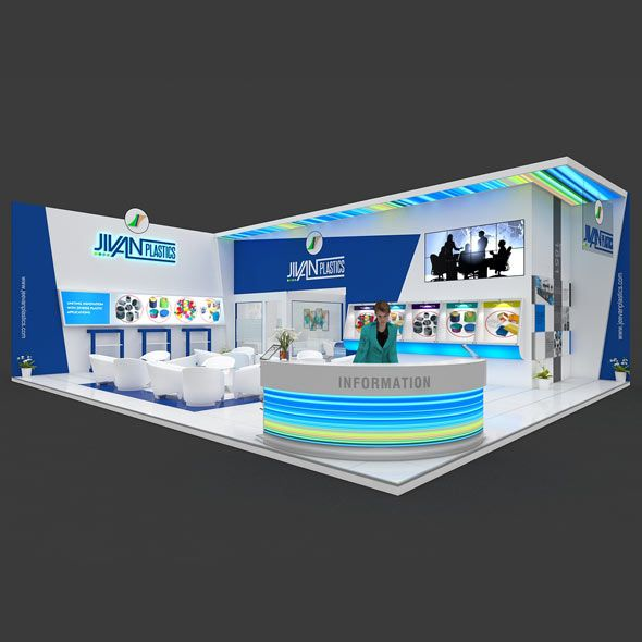 Exhibition Booth 3D Model. 3D model and objects for room 3D modelling. #3D #3DModel #3DDesign #3DScene #render #3dStall #architectural #booth #BoothDesign #exhibit #ExhibitionStall #expo #fair #interior #stall #StallDesign #stand #StandDesign #TradeFair