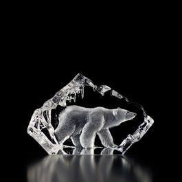 Sweden Crystal Design - Isbjörn av Mats Jonasson.