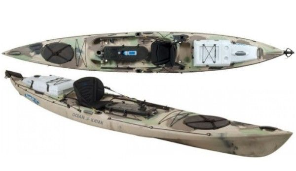 Ocean Kayak Trident Ultra 4 7 Ocean Kayak Fishing Kayak