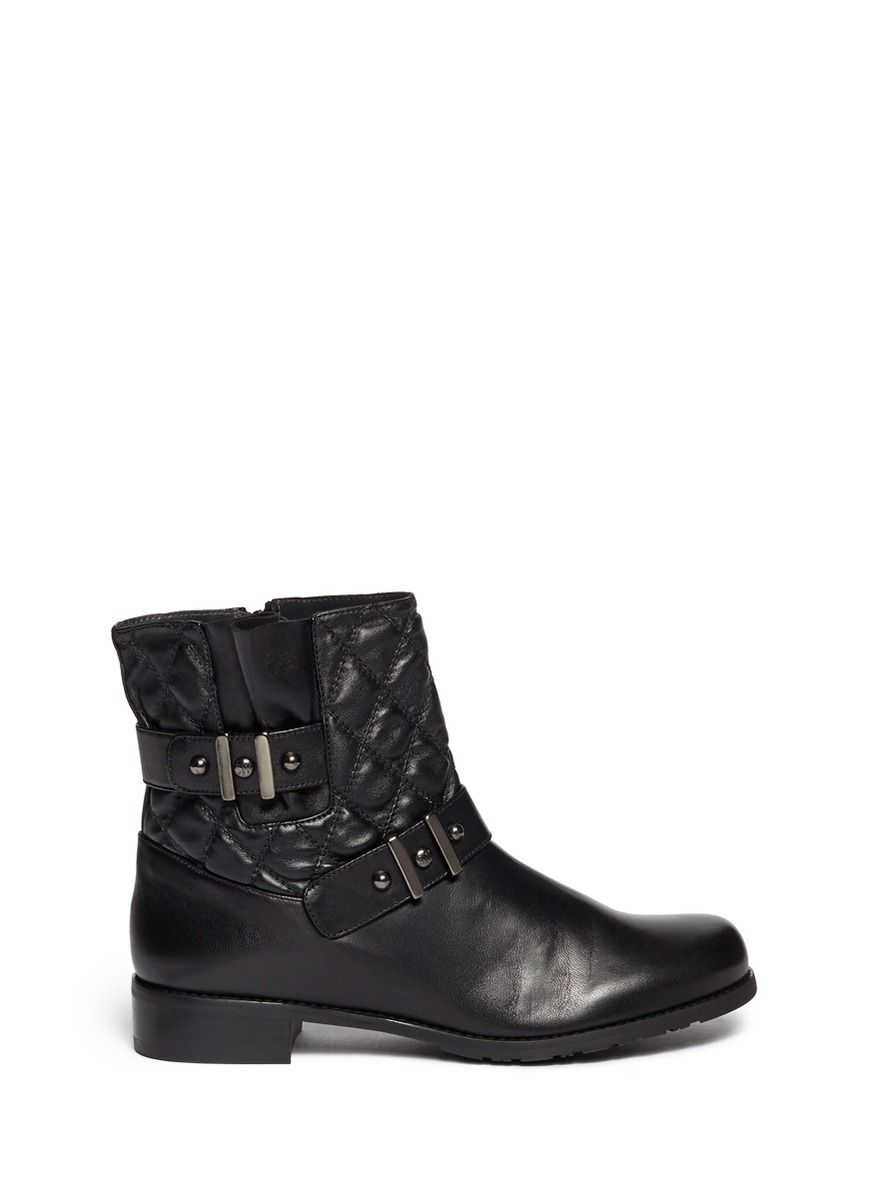 c8f1d4f6e5884 STUART WEITZMAN -  Download  quilted leather boots