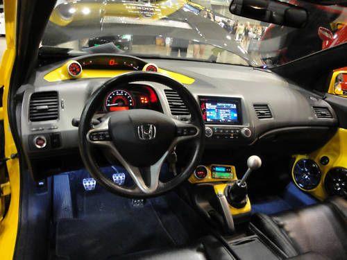 2010 Honda Civic Si Custom Interior Shot