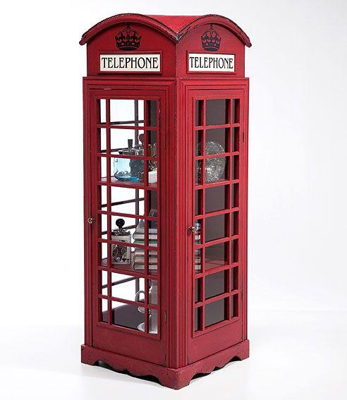 vitrina cabina telefonica london | vintage rock, wood working and ... - Cabina Telefonica
