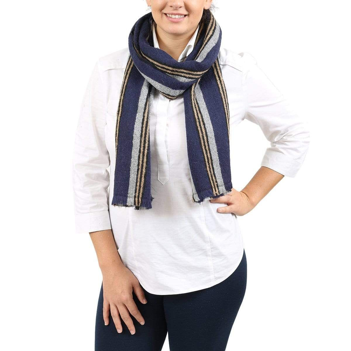 Photo of Missoni SC12WMU40760001 Navy Scarf