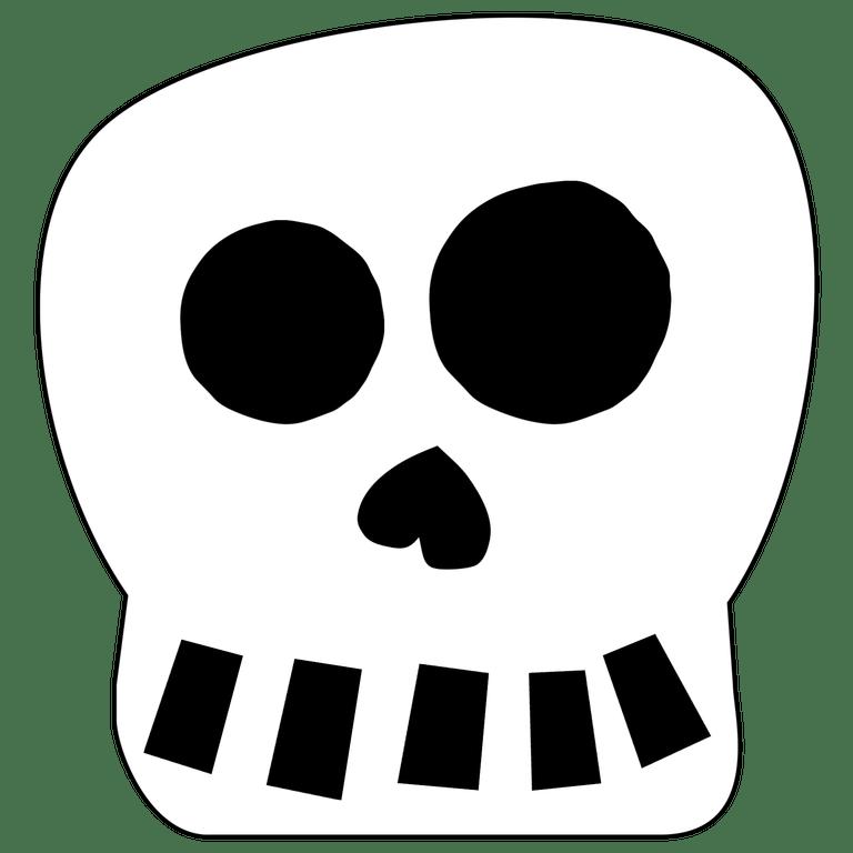 Halloween Skull Decorations.Free Printable Halloween Skull Decoration Banner Paper Trail Design Halloween Skull Decorations Halloween Skull Halloween Printables