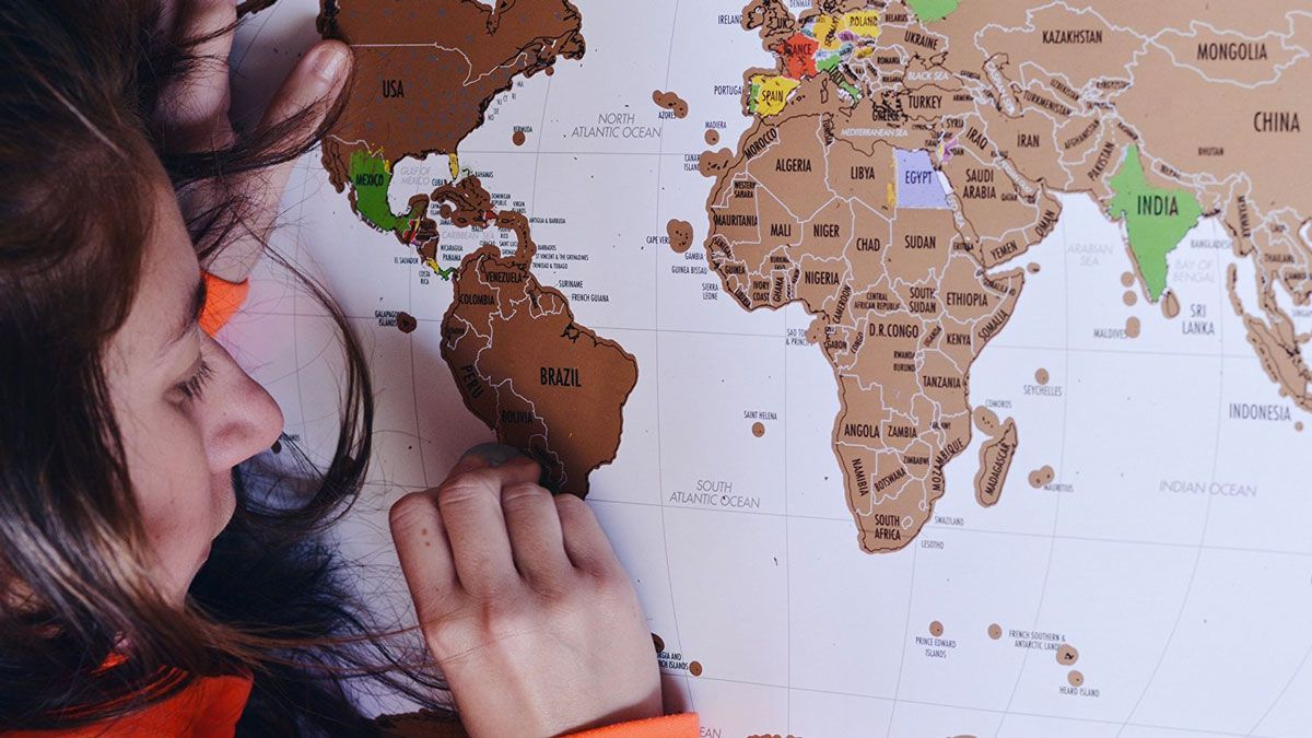 Where ive been scratch off map love this piece of map artdecorscratch board its a cool design and a wonderful idea to remember your world travel i especially love that the scratch gumiabroncs Image collections
