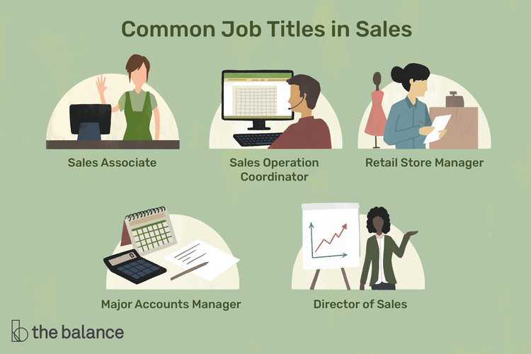 Learn About The Different Sales Job Titles And Get Descriptions Sales Jobs Marketing Jobs Job Title
