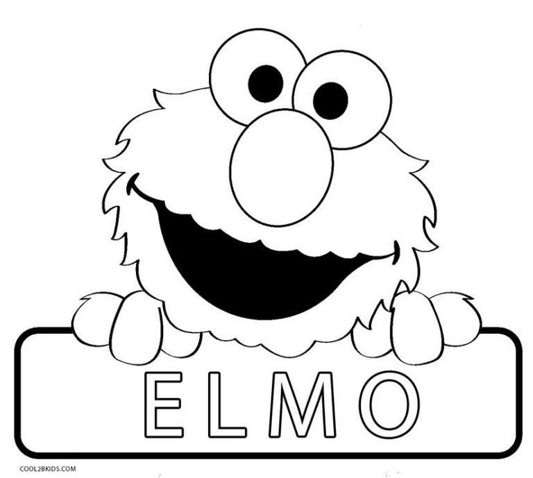 Printable Elmo Coloring Pages For Kids Cool2bkids In 2020 Birthday Coloring Pages Elmo Coloring Pages Sesame Street Coloring Pages