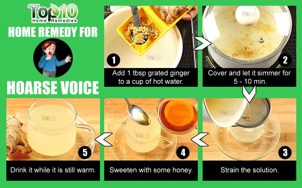 How To Get Rid Of A Hoarse Voice Home Remedies