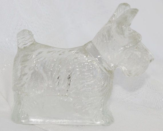 Vintage Candy Container 1930s Scottie Scottish By Soldiersuzanne Vintage Candy Scottie Scottish Terrier