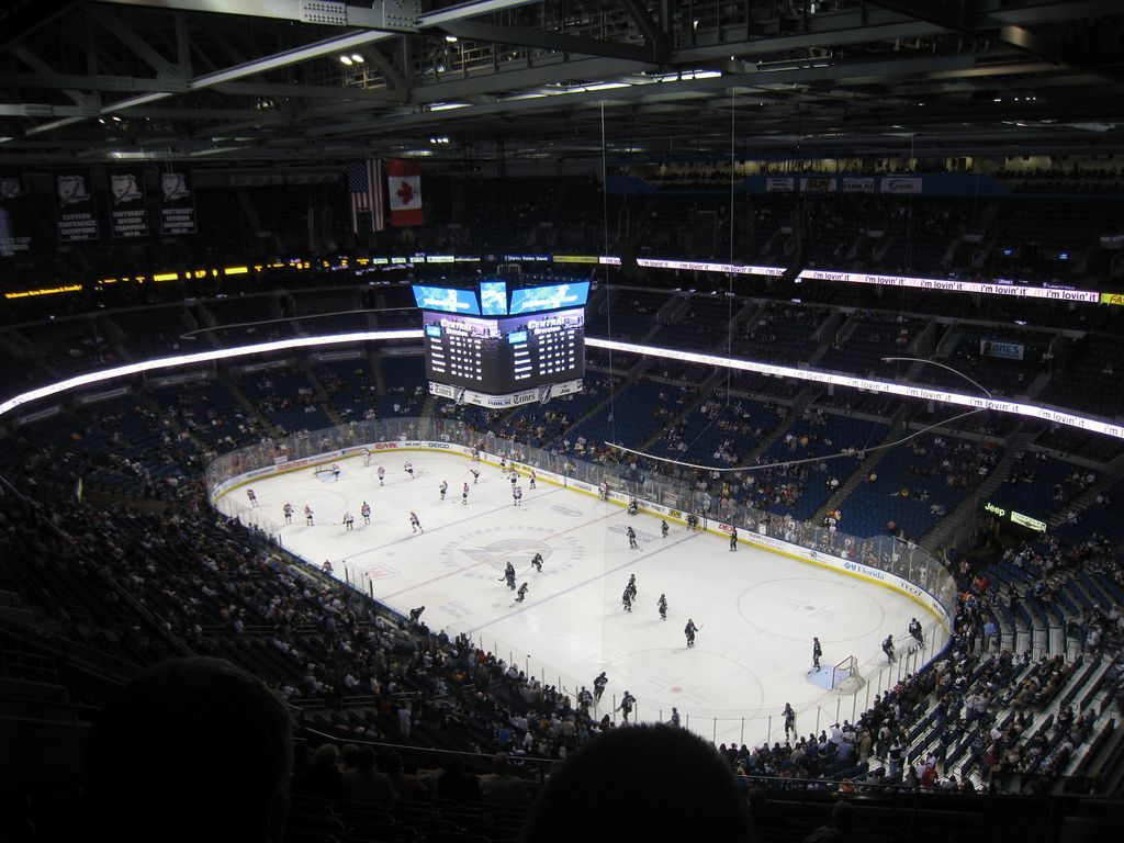 Bank Atlantic-hockey arena.  Home of our Florida Panthers