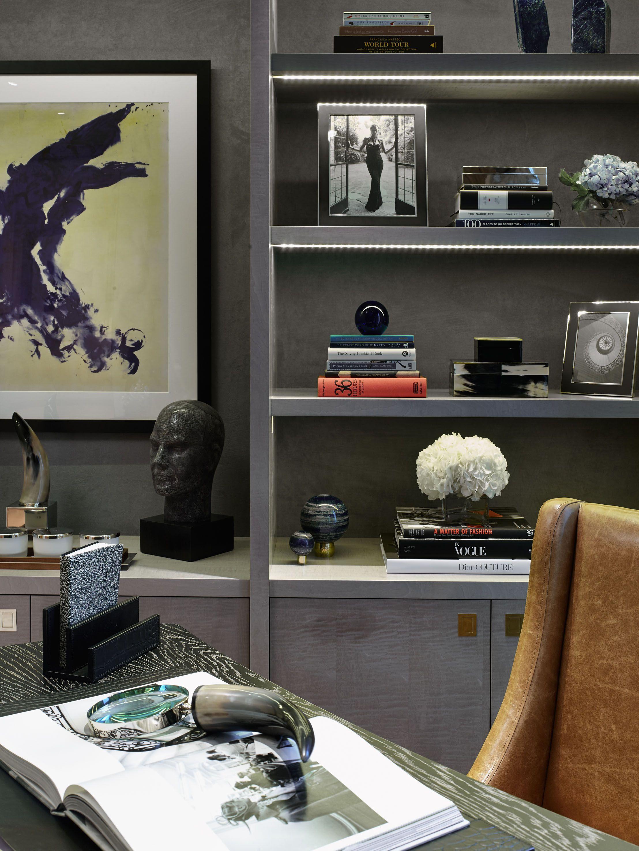 Chelsea, London | Luxury Interior Design | Study | Bespoke | Joinery ...