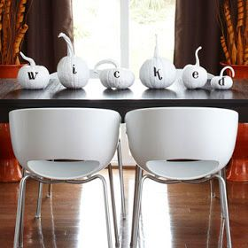The Road to Crazy: 31 Days of Halloween 2012 - Day 24: 16 ADORBS No-Carve Pumpkin Dec Ideas
