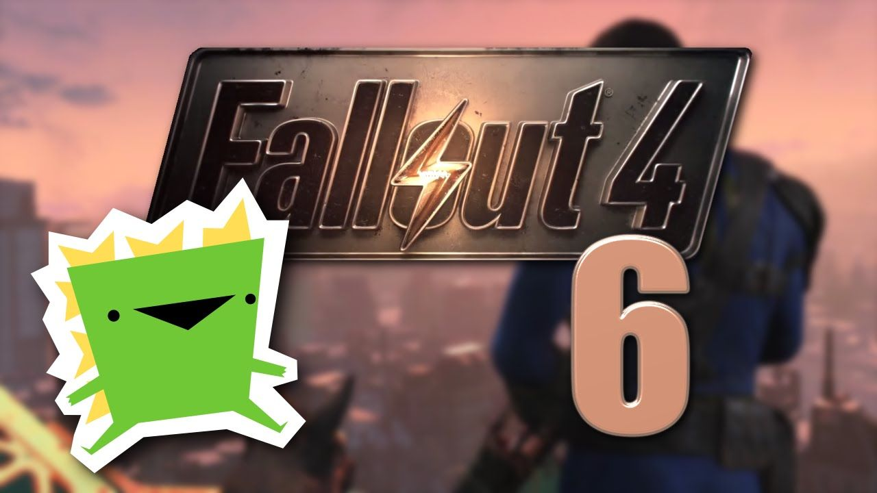 Fallout 4 - Radiation Lake - Episode 6 - Giant Angry Monsters