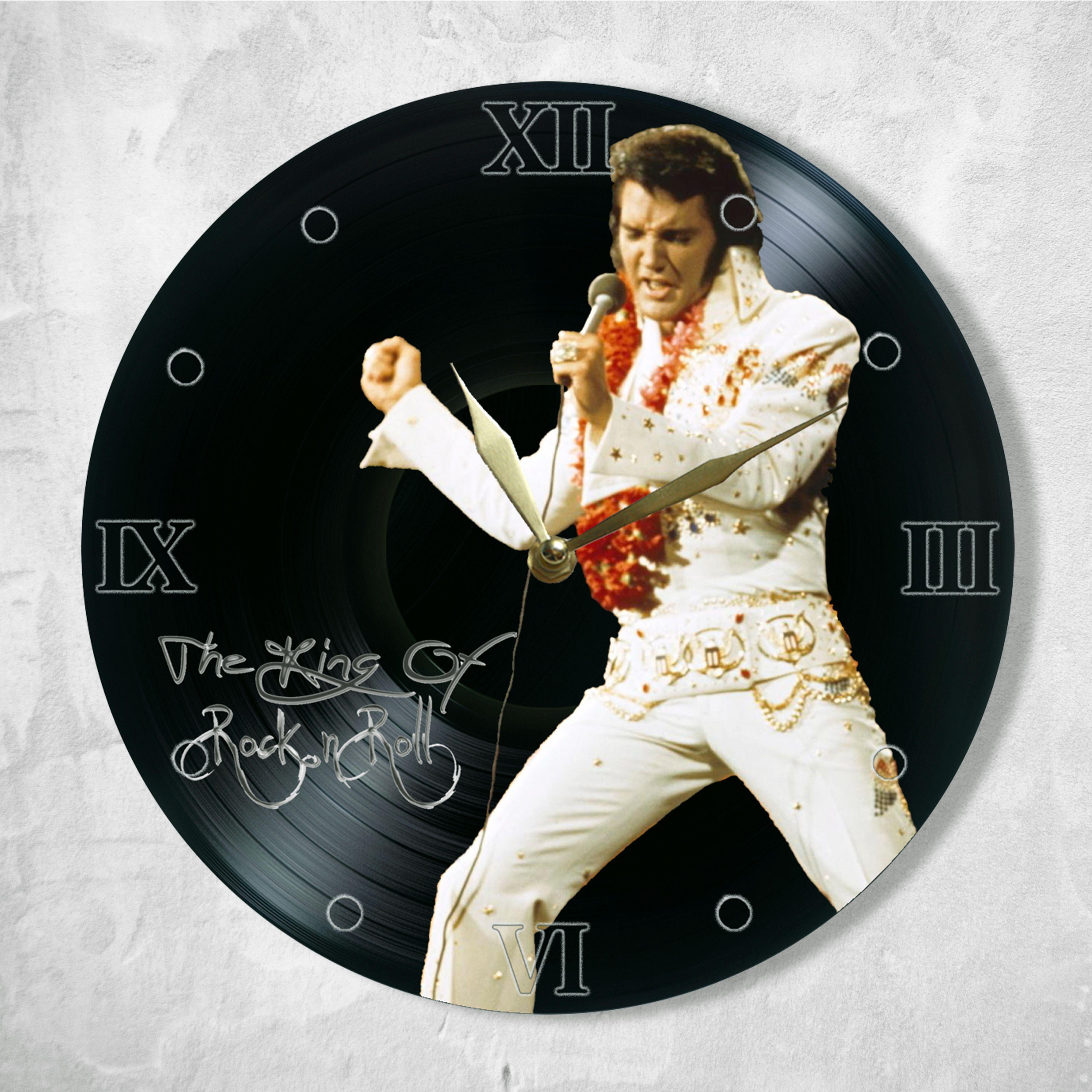 Elvis Presley Swinging Legs Clock