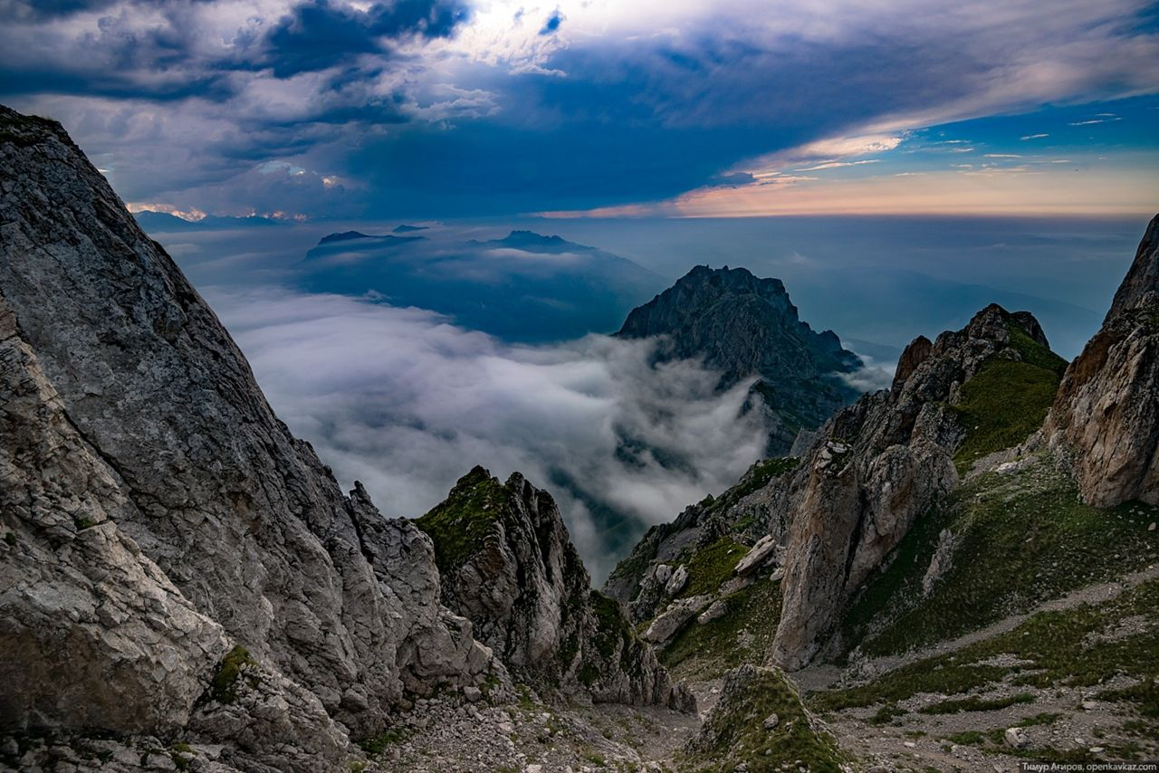 Восхождение на гору Столовая, Ингушетия   Столовая, Горе ...