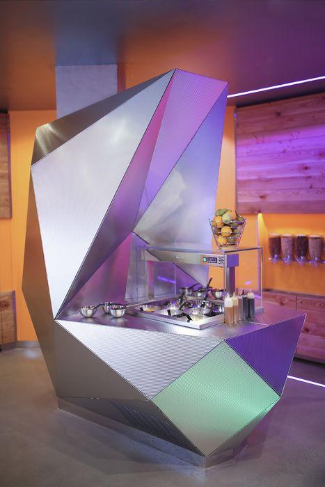 Samba Swirl Restaurant, London designed by Mizzi Studios