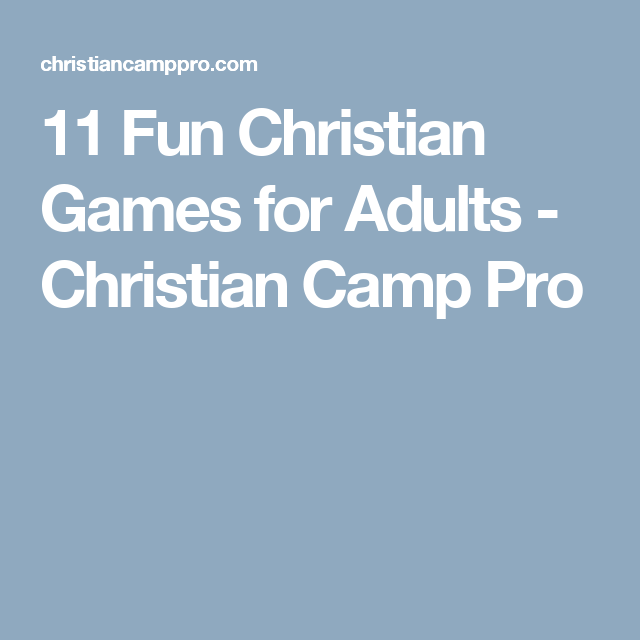 christian games Adult