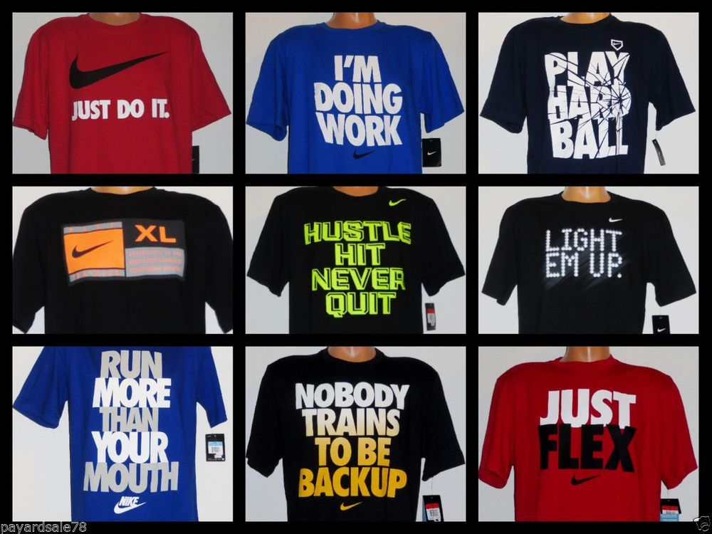 Men's T M L New Shirt Motivational Sayings You 2014 2xl Xl Nike Cool 1fxw5F