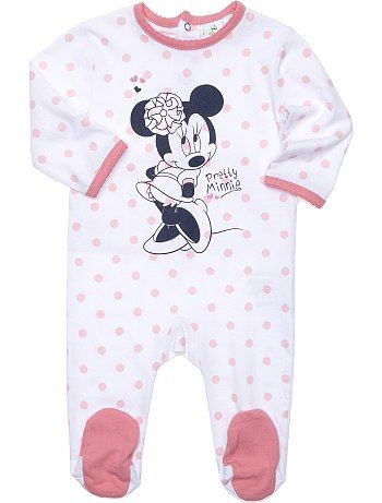 pyjama jersey 39 disney 39 b b fille kiabi 9 99. Black Bedroom Furniture Sets. Home Design Ideas