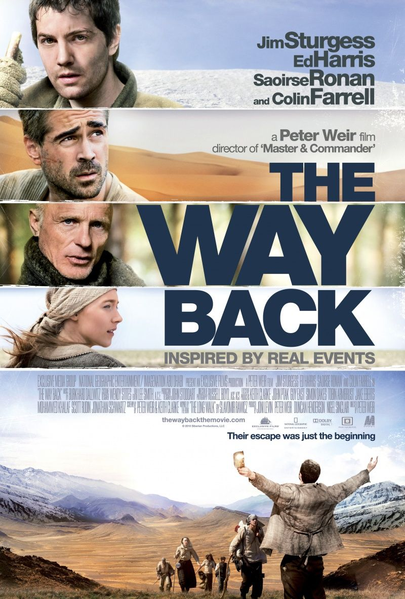 The Way Back, 2010. Saw this movie last weekend, strong story and beautiful landscapes.