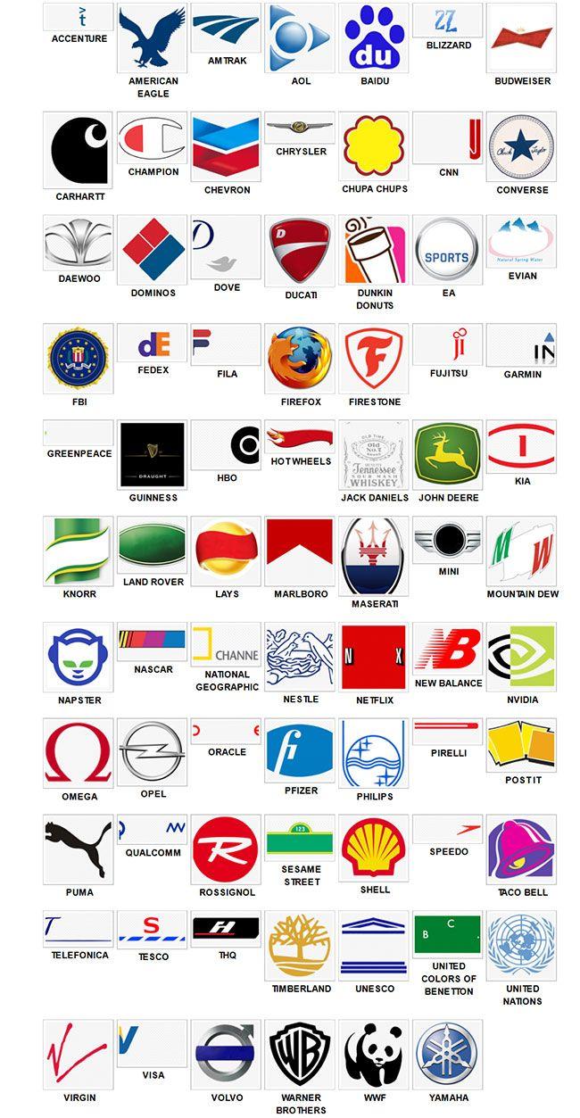 Marcas De Juegos Logos Quiz
