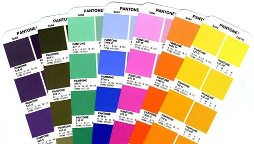 Color Difference Printing with Pantone Colors and Spot Colors - cmyk color chart