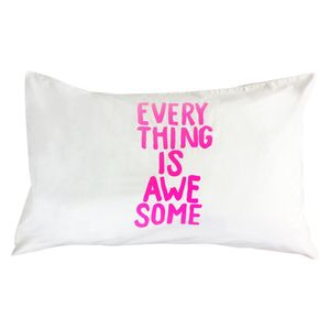 Everything+is+cool+when+you're+part+of+a+team...+Lego+fans+this+one's+for+you!  This+beautifulstandard+single+pillowcasehas+a+300+thread+count+inpure+cotton,+reverse+plain.  Made+and+hand+screen+printed+in+New+Zealand.  Size:50+x+75cm.  Some+variation+in+colour+or+design+may+occur+with+the+handmade+nature+of+our+range.