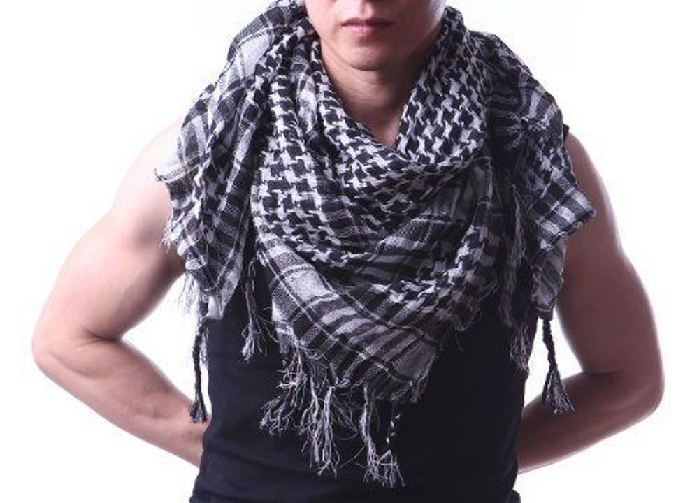 Apparel Accessories Fashion Men Scarves Lightweight Military Arab Tactical Desert Army Shemagh Keffiyeh Superb 2018 New Winter Plaid Warm Wraps Durable Modeling