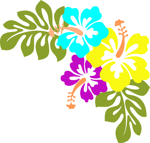 hawaiian flower clip art flowers clip art vector clip art online rh pinterest com hawaiian flower clip art borders hawaiian flowers clipart no background