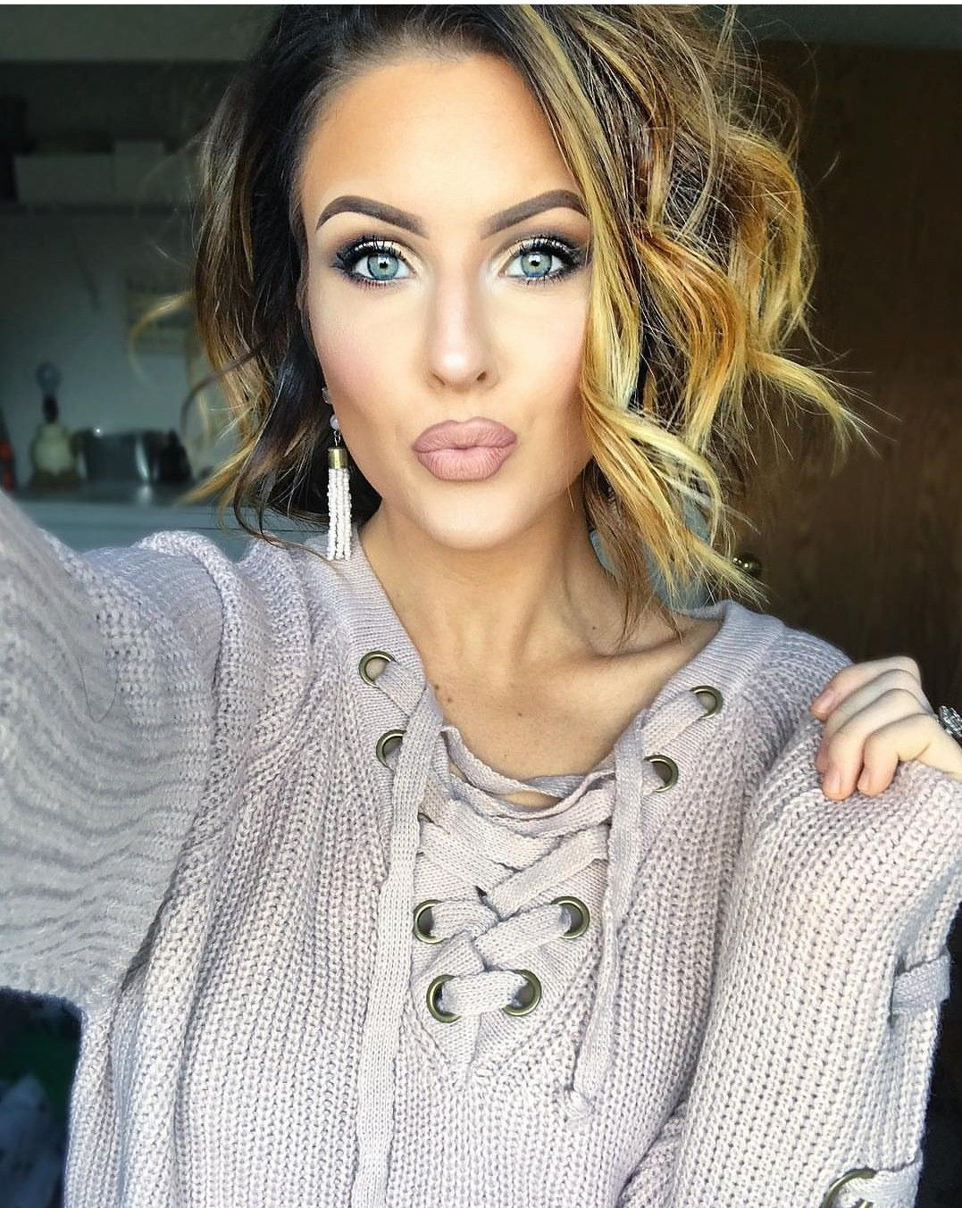 Pin by lynzy on short hair passion pinterest makeup hair style